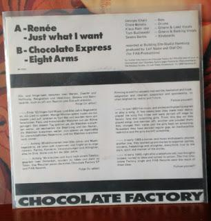 Chocolate factory : a great german band from the eighties
