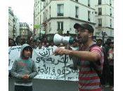 réfugiés Paris sont colère