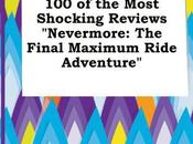 Most Shocking Reviews Nevermore: Final Maximum Ride Adventure FREE Dominic Brenting
