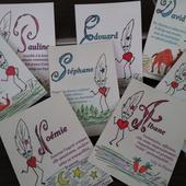 Commande Cartes Postales Prénom Lily la Plume - Les Prénoms par Lily la Plume