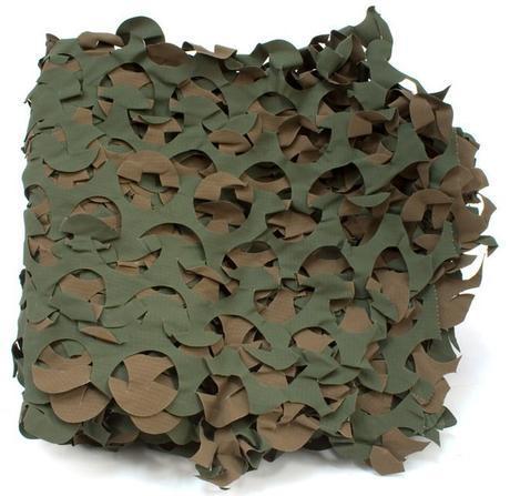 Un filet de camouflage simple comme celui-ci vous rendra d'énormes services.