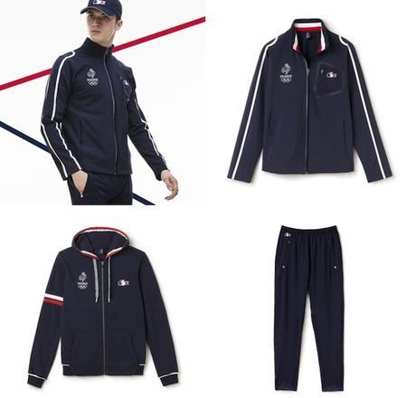 France De Jeux Paperblog Olympiques Vêtements Lacoste La Les Aux FTgf7pf