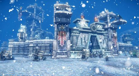 Riders of Icarus mise à jour Blight of Frost Keep 2