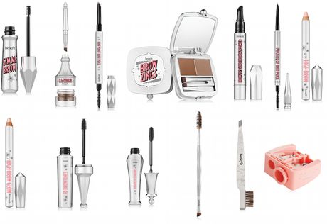 La Brow Collection de Benefit Cosmetics.