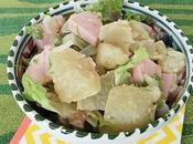 Salade pommes terre cervelas [#salade #summer #belgium #belgique]