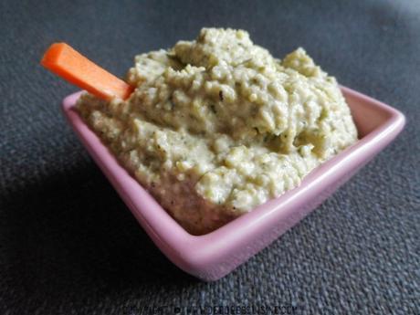 houmous aux courgettes recette paleo healthy regime