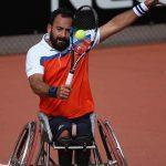 Michaël Jeremiasz, porte drapeau de la délégation paralympique française pour Rio 2016
