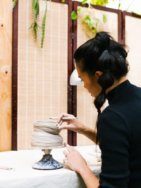 Les céramiques organiques de Zhu Ohmu