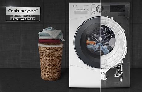 technologie Centum System lave-linge LG