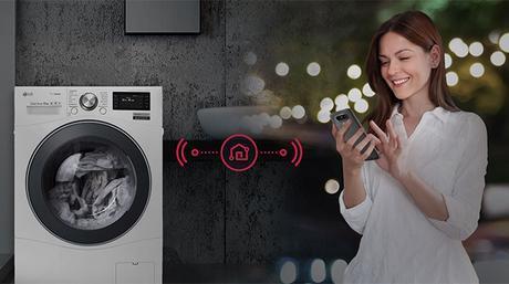 technologie Centum System lave-linge LG Smart ThinQTM
