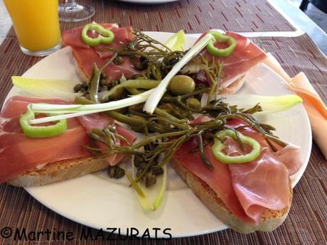 Octobre 2015 - 439 - Porto Cristo - Restaurant El Patio - Pa Amb Oli
