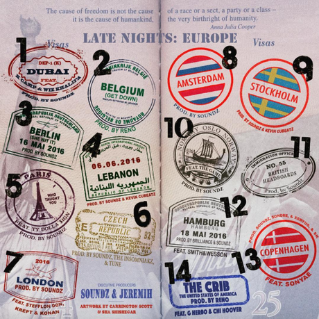Jeremih - Late Nights : Europe