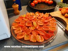 Recette tomates séchées (confites) micro ondes