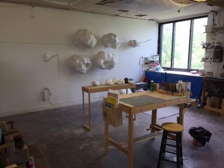 Moira Murdock Sculpture / Sculpture 6201 ave Parc, 2e étage. instagram: /moira5murdock