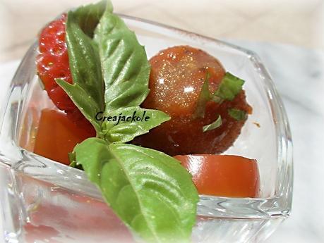 fraises poivrons