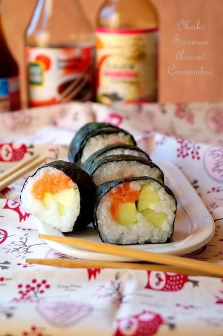 Maki fait maison au saumon