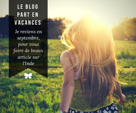 Des vacances pour le blog !