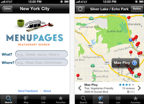 Menu Pages : une application indispensable pour New York