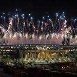 La cérémonie d'ouverture à Rio