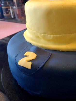 gateau minion detail