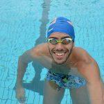 Jordan Coelho, comme un papillon dans l'eau