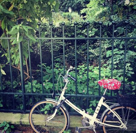 Un vélo dans Paris (c) D'une île à Paris