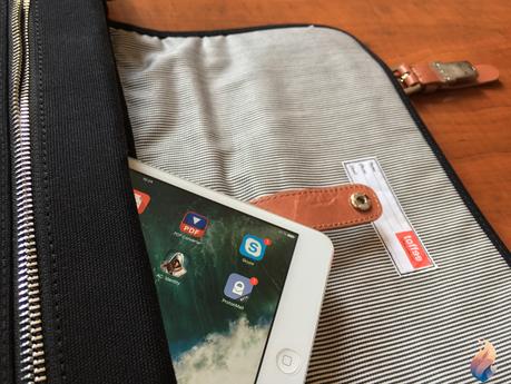 Sac Messenger Toffee Fitzroy Satchel pour iPad Pro: l'éclectique!