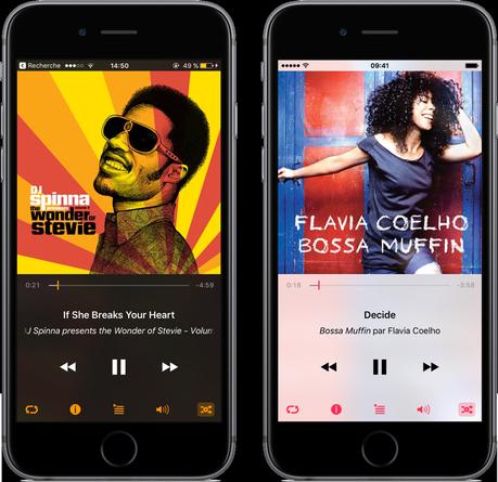 Cesium: remplacer totalement l'app Musique de Apple
