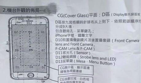 Un LED à l'avant pour l'iPhone 7 ?