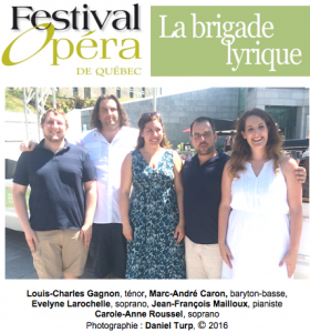 La brigade lyrique (2016)
