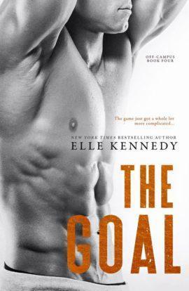 A vos agendas : The Goal, le 4ème tome de la saga Off Campus, d'Elle Kennedy sortira en VO fin septembre