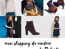 sélection shopping rentrée Redoute Brand Boutique