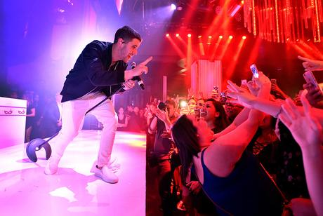 Nick Jonas Performs At Intrigue Nightclub In Wynn Las Vegas