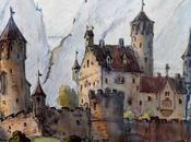 aquarelle pour Neuschwanstein Franz Pocci