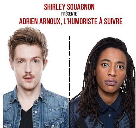 Shirley Souagnon et Adrien Arnoux se partagent l'affiche pour une tournée dans toute la France à partir de septembre 2016 !