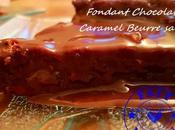 Fondant Chocolat caramel beurre salé Thermomix