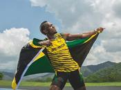 Joue-la comme Usain Bolt: l'or partout montre Hublot!