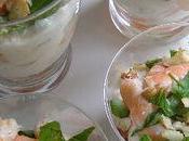 Verrines crevettes fromage frais [#verrine #crevettes #summer]