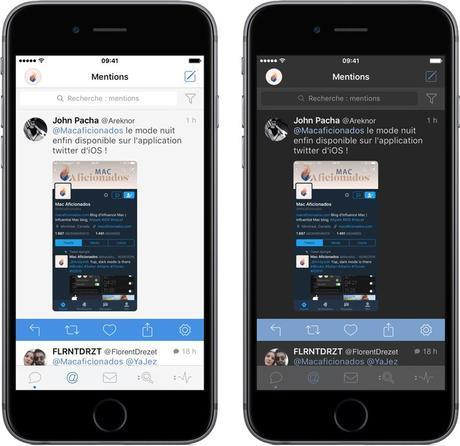 Twitter voit en noir Spotify en blanc avec Spotio