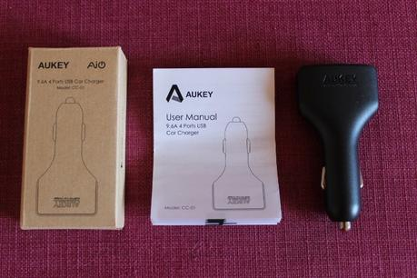 Test Chargeur USB 4 Ports Aukey Amazon 12