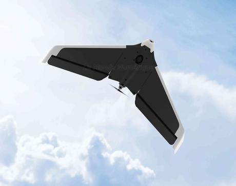 Parrot lance sa première aile volante de loisir
