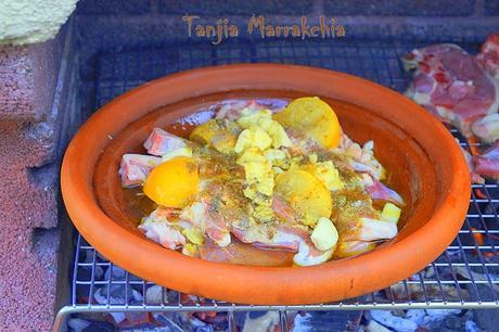 Recette Tanjia marrakchia à ma façon