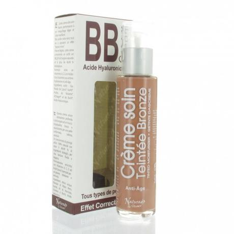 BB cream a l Acide hyaluronique Bronze Naturado 50ml