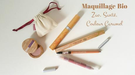 Que vaut le maquillage BIO de Couleur Caramel ? Enjoy today with Estelloo'