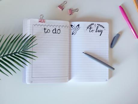 Conseils pour commencer son bullet journal