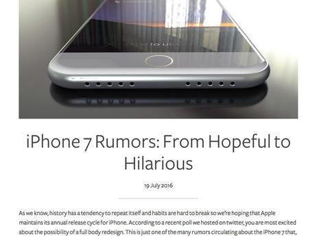 iPhone 7 les étuis de protection à commander