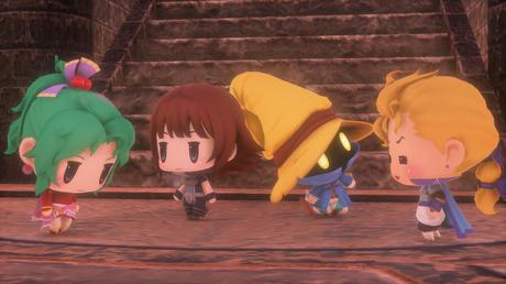 Nouveaux screenshots World of Final Fantasy PS4 PS Vita 5
