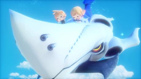 Nouveaux screenshots World of Final Fantasy PS4 PS Vita 1