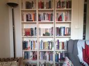 bibliothèques bien rangées