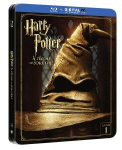 Les Steelbooks Et Edition Collector Pour Harry Potter A